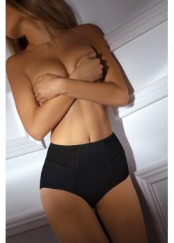 Черни бикини с висока талия BBL060