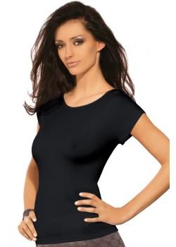 Дамска блуза с къс ръкав в черно Kiti