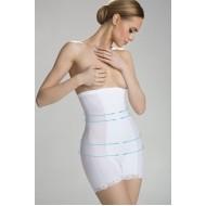 Оформящи бикини с висока талия в бяло Vanessa