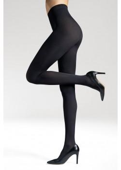 Безшевни чорапогащи в черен цвят LYCRA® 3D Satti Matti 90 DEN