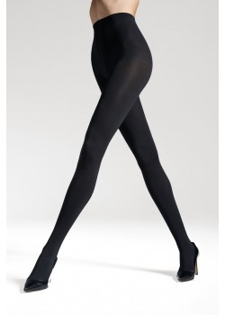 Безшевни чорапогащи в черен цвят LYCRA® 3D Satti Matti 120 DEN