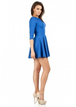 Мини плисирана рокля MOE 121