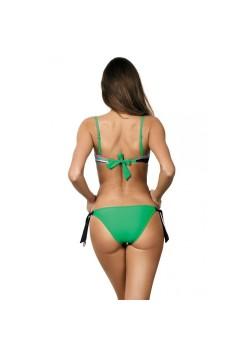 Бански костюм от две части в зелено Justine M-298-177