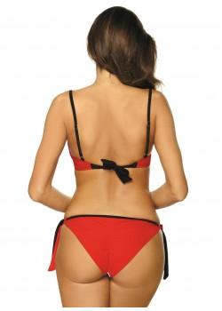 Бански костюм от две части в червено Camilla M-489-3