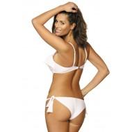 Цял бански костюм в бяло Carmen M-468-7