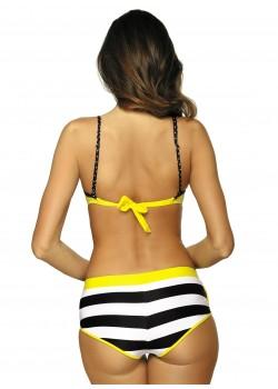 Бански костюм от три части в жълто Victoria M-449-4