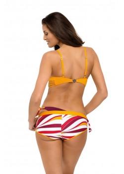 Бански костюм в оранжев цвят Angelina M-544-6