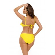 Цял бански костюм в жълт цвят Belinda M-548-15