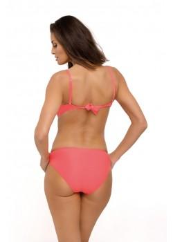 Цял бански костюм в цвят нектарина Belinda M-548-1