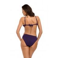 Цял бански костюм в цвят слива Belinda M-548-5