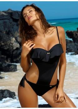 Цял бански костюм в черно Carmen M-468-8