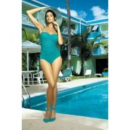 Цял бански костюм в цвят тюркоаз Gabrielle M-123-41