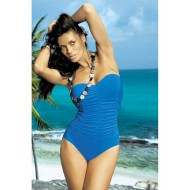 Цял бански костюм в синьо Gabrielle M-123-120