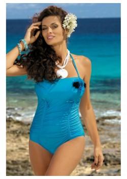 Цял бански костюм в синьо Shila M-202-193