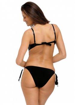 Черен бански костюм от две части Frances M-529-6