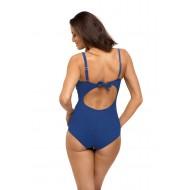 Цял бански костюм в син цвят Gabrielle M-543-8