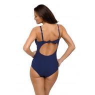 Цял бански костюм Gabrielle M-543-17 в тъмносин цвят