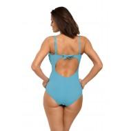 Цял бански костюм в светлосин цвят Gabrielle M-543-9