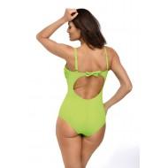 Цял бански костюм в зелен цвят Gabrielle M-543-5