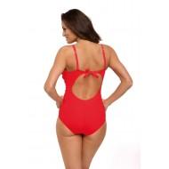 Цял бански костюм в червен цвят Gabrielle M-543-11
