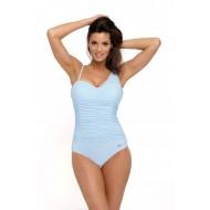 Цял бански костюм Gabrielle M-543-4 в пастелно син цвят