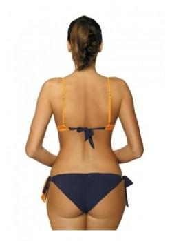 Бански костюм от две части в оранжев цвят Shirley M-455-11