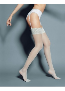 Дамски дълги чорапи в кафяв цвят Calze Mary Visone 20 DEN