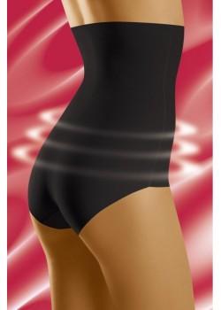 Черни моделиращи бикини с висока талия Supressa