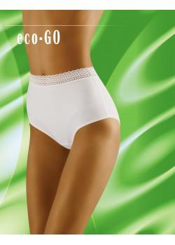 Бели бикини с висока талия Eco-Go