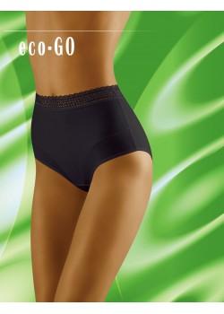 Черни бикини с висока талия Eco-Go