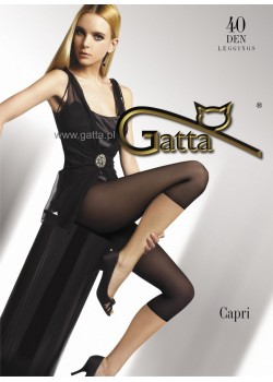 Чорапогащник-клин в черен цвят Capri Nero 40 DEN