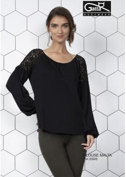 Дамска блуза в черен цвят Malta