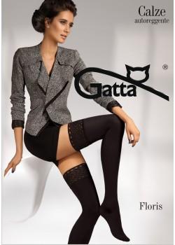 Дамски дълги чорапи в черен цвят Floris Nero