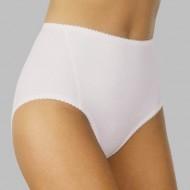 Моделиращи бикини в бяло Velvet