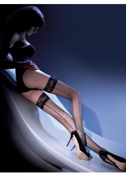 Mрежести чорапи  в черен цвят Kabarette 15 DEN