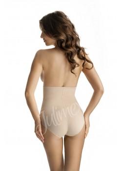 Моделиращи бикини с висока талия в телесен цвят