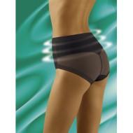 Моделиращи бикини с висока талия в черен цвят Uniqata