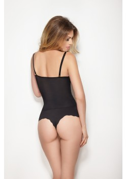 Моделиращо боди прашка в бяло Glam Body String