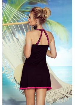 Плажна туника Amber в черен цвят