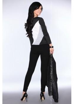Дамска блуза в черен цвят CG032