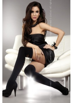 Дамски дълги чорапи в черно Sheila