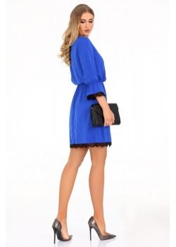 Ежедневна рокля Shanice в син цвят