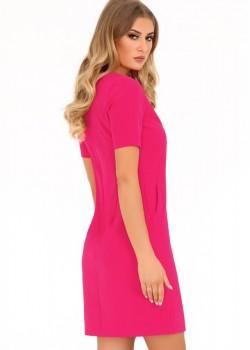 Ежедневна рокля Minar в цвят фуксия