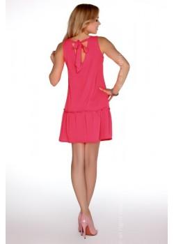 Ежедневна мини рокля в розово Nixolna