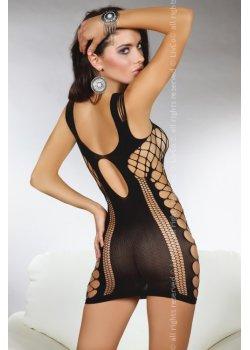 Еротична рокля от едра мрежа Anshula