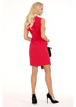 Елегантна асиметрична мини рокля Matemia