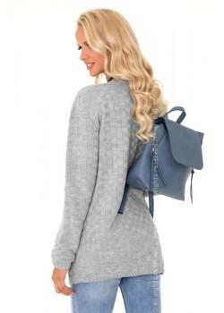 Дамска жилетка в сив цвят Milamin