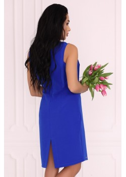 Елегантна рокля Viran в син цвят