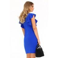 Елегантна рокля Marjoleina в син цвят