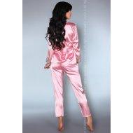 Дамска сатенена пижама Tomana